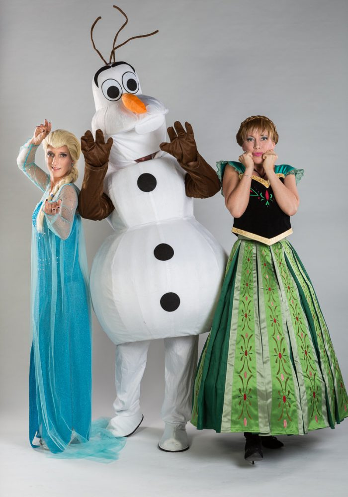 sneeuwkoningin en sneeuwprinses